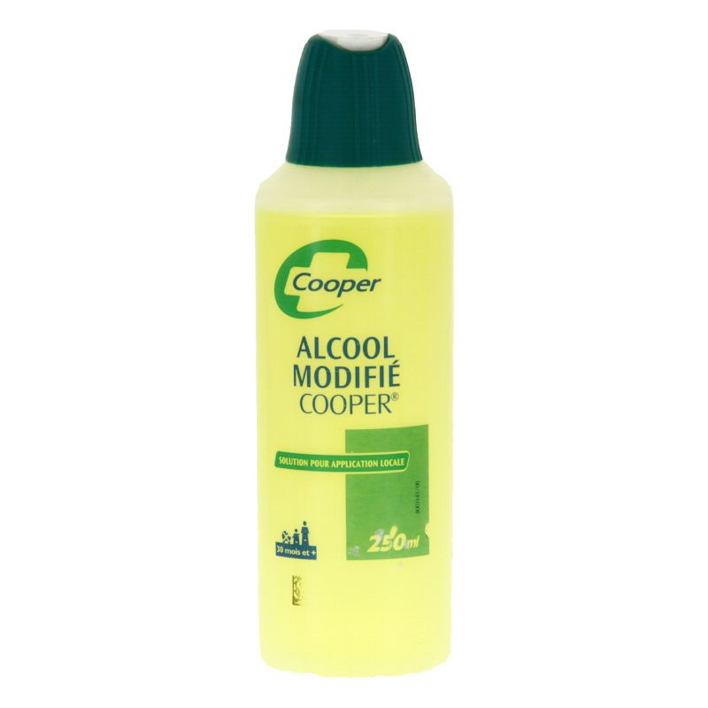 ALCOOL MODIFIE COOPER, solution pour application cutanée 125 ml