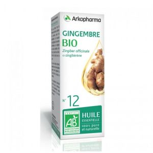 ARKOPHARMA HUILE ESSENTIELLE N°12 GINGEMBRE 5ML