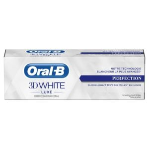 Oral B Dentifrice 3DWhite perfection 75ml