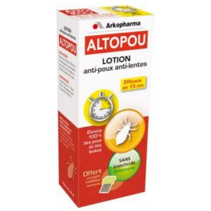 Arkopharma Altopou Lotion Anti-Poux Anti-Lentes 100 ml