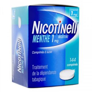 Nicotinell 1mg menthe 144 comprimés