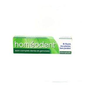Boiron Homeodent Soin complet dents et gencives, arôme chlorophylle T/75ml