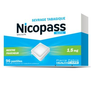 Nicopass 1,5mg S/s Ment Past96