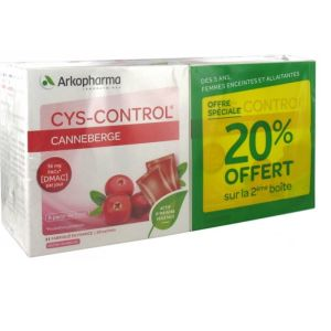 Cyscontrol Pdr Compl Ali 20sac Lot De 2