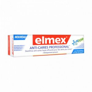 Elmex dentifrice 6-12 ans anti-caries pro 75ml