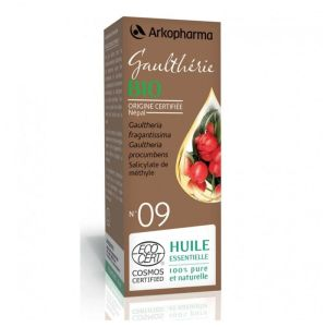 ARKOPHARMA HUILE ESSENTIELLE N°9 GAULTHERIE WINTERGREEN 10ML