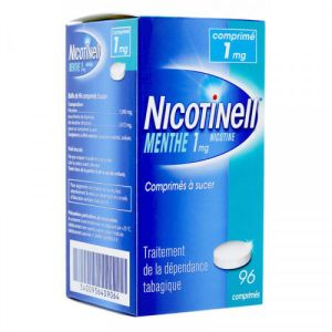 Nicotinell 1mg menthe 96 comprimés