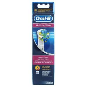 Oral B Brosset Floss Action Bte 3