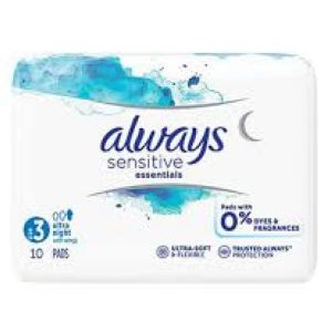 Always cotton protection T3 ultra night x10