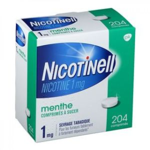 Nicotinell 1mg Cpr Menthe Bte 204