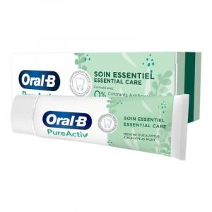 Oral B Dentifrice PureActiv 0% 75ml