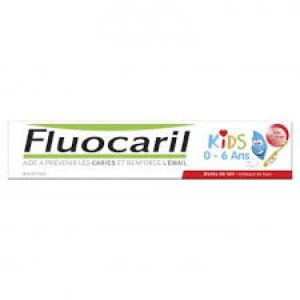FLUOCARIL Dentifrice 0-6 ans fraise 50ml