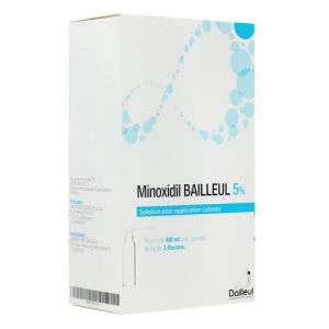 Minoxidil 5% solution 3 x 60 ml