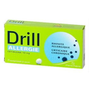 Drill Allergie Ceti.10mg Cpr