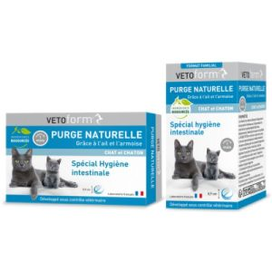 Vetoform Purge Naturelle Chat Cpr Bt50