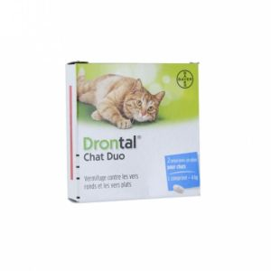 Drontal Chat Vermifuge Cp Bte 2