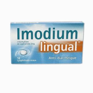 IMODIUMLINGUAL 2 mg, lyophilisat oral